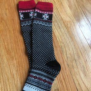 Holiday boot socks